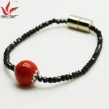Neues Armband-Schwarzessuper grelles Spinel rotes Tourmaline-Armband der Form-Spb-002
