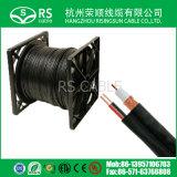Rg59/RG6/Rg11ドロップ・ケーブルCATV CCTV衛星システム