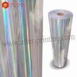 Película que lamina termal olográfica colorida/transparente de BOPP/Pet con los modelos