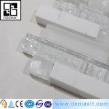 Mosaico cristalino del bloque de cristal