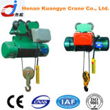Sale chaud 0.25t, 0.5t, 1t, 2t, 3t, 5t, 10t, 16t, 20t Electric Wire Rope Hoist