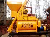 A melhor máquina de venda da construção do misturador concreto do Gêmeo-Eixo