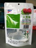 Fastfood- Reißverschluss-Beutel mit freiem Fenster-Imbiss-Verpacken- der Lebensmittelbeutel