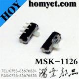 Interruptor deslizante de SMD (MSK-1126)