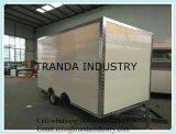 Трейлер киоска торгового автомата еды вагонетки перехода тележек торгового автомата еды ISO9001 автоматический