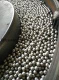 Llevando las bolas de acero 38.1m m