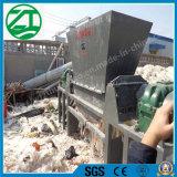 Fábrica doble de la desfibradora del eje para la pelotilla/la basura del plástico/de madera/del neumático/de la cocina/la espuma de madera/el hueso animal/la basura municipal