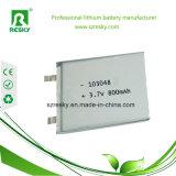 Bateria recarregável 3.7V 800mAh 103048 de Lipo