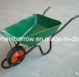 Hot SaleのためのWb3800の鋼鉄Wheelbarrow