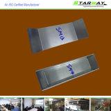 Aço inoxidável personalizado que carimba partes com fabricação de metal da folha