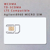 tarjeta micro de la tarjeta SIM del teléfono de la tarjeta de la prueba de 3G 4G WCDMA TD-SCDMA Lte para Agilent 8960