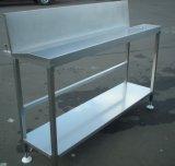 Kundenspezifisches lochendes MetallEdelstahl-Küche-Wand-Regal