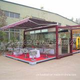 Vollausgebaute Behälter-Gaststätte, bewegliche Küche