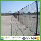 6X10FT Canadá fácil instalam a cerca provisória da construção do revestimento do pó