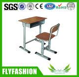 セットされる中国の製造者の学校家具学生の椅子および机(SF-48)