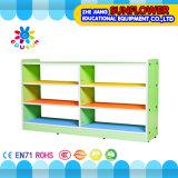 木のおもちゃの食器棚、子供の幼稚園の家具(XYH12137-3)