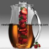 Brocca all'ingrosso dell'acqua di Infuser della frutta con la memoria Rod del ghiaccio