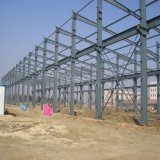 Gruppo di lavoro chiaro prefabbricato della struttura del blocco per grafici d'acciaio con il disegno economico