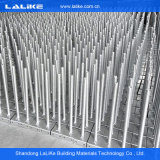 HDG 건축재료 강철 유형 Ringlock 유형 비계 시스템