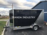 Novo 2017 7 X 20 14k Flatbed Utility Tilt Equipment Hauler Car Hauler Trailer
