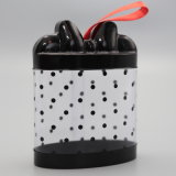 Geschenk-Kasten PVC Plastic Cylinder Box mit Ribbon