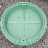 Diámetro 600m m de FRP Polymer Resin Square Manhole Covers