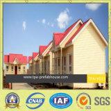 Casa modular profesional de la ISO en el lado del país