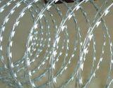 ベストセラーのアコーディオン式かみそりの有刺鉄線