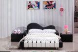 Самая популярная самомоднейшая кровать рояля кожи или ткани детей (HCB005)