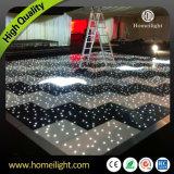 LED negro DMX512 iluminado Dance Floor para la bola del banquete de boda