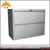 Golpear abajo la cabina de almacenaje lateral de acero de fichero del metal 2 de la oficina del cabinete de archivo colorido del cajón