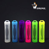 Silicone Rubber Protective Case / Skin / Sleeve / Cover para E Cig 18650 Battery Wholesale