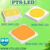0.5W 2835 SMD LED en color rojo claro con el CE, RoHS