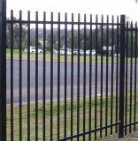 Puder beschichtete 2.1m X2.4m die Stangen-Oberseite-Sicherheitszaun für Australien