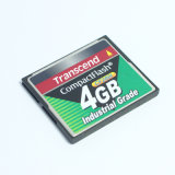 4G Transcend Compactflash Memória flash compacta CF200I 4GB Industrial Grade CF Card