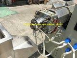 Alta calidad máquina plástica de la protuberancia del tubo médico de tres lúmenes