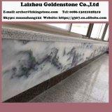 마루 흐린 회색 대리석 벽 도와 파랑 대리석을%s 도와