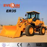 Chargeur de construction hydraulique de 3 tonnes avec la vitesse électronique d'engine d'Euroiii