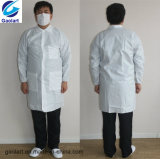 Manteau de laboratoire en tissu non tissé Sf PE avec vêtements de travail microporeux