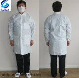 Sf PET nichtgewebter Gewebe-Labormantel mit mikroporöser Arbeits-Kleidung/Overall