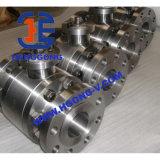 Válvula de esfera forjada de alta pressão do aço inoxidável 304 de DIN/API/JIS