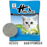 2016 새로운 애완 동물 공급에 의하여 순화되는 공기 벤토나이트 고양이 배설용상자