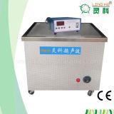 Machine de nettoyage ultrasonique avec le panier en acier