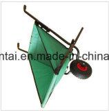 Gewebe-Tellersegment-Schubkarre China-Qingdao faltbare