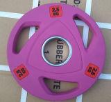 3 agujeros de goma del color Peso Plate (SA16-B)