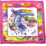 Custom Made Logo imprimé coton promotionnel tête wrap Square Bandana