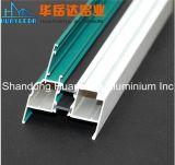 Profil en aluminium enduit de poudre pour le guichet et la porte
