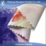 la scheda di stirata di modo di stampa 4 dello Spandex del poliestere 75D mette il tessuto in cortocircuito dell'indumento