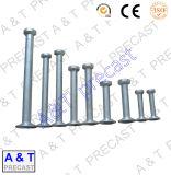 Aço inoxidável/aço de carbono/escora de levantamento chapeada zinco