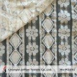 Tissu épais de lacet de guipure de coton (M3191)